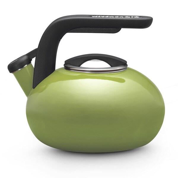 KitchenAid Gourmet Essentials Accessories Green Whistling 2-quart Tea Kettle
