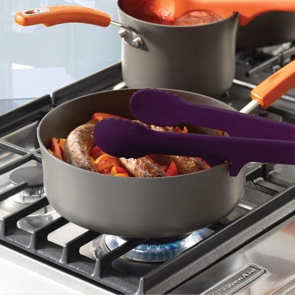 Rachael Ray Tools & Gadgets Purple Lazy Tongs 10168651
