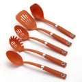 Rachael Ray Tools Orange 5-Piece Tool Set