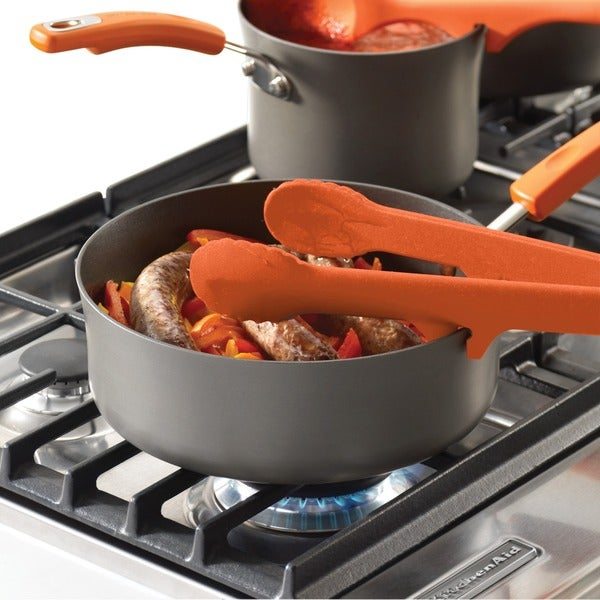 Rachael Ray Tools and Gadgets Orange Lazy Tongs 10168668