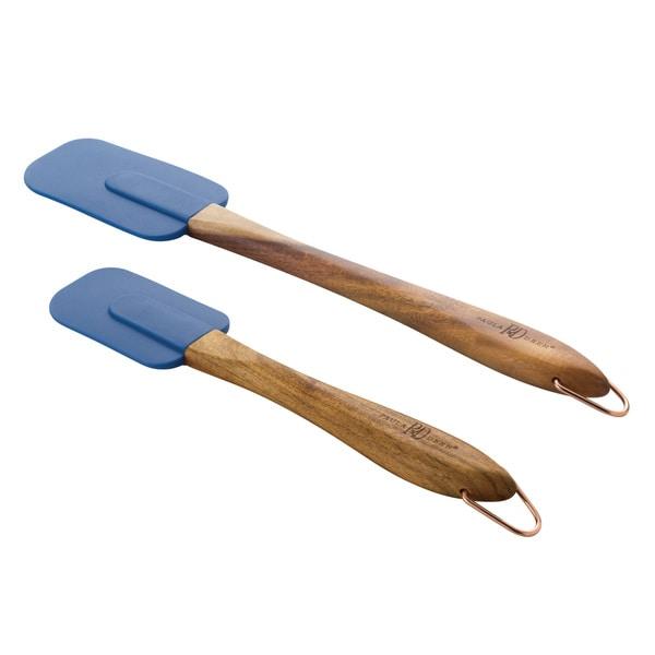 Paula Deen Signature Tools 2-Piece Blueberry Spatula Set