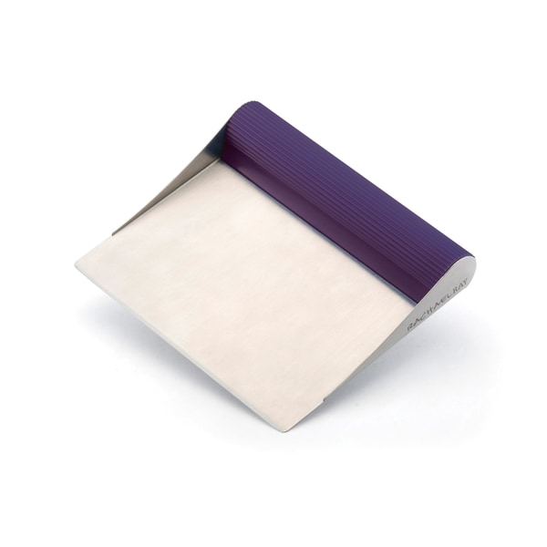 Rachael Ray Tools and Gadgets Stainless Steel Purple Bench Scrape 10168697