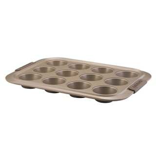Anolon Bronze Collection Bakeware 12-cup Muffin Pan