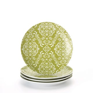 Rachael Ray 'Curly-Q' 4-piece Salad Plate Dinnerware Set