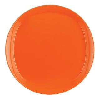 Rachael Ray 'Round and Square' 4-piece Tangerine Dinner Plate Dinnerware Set
