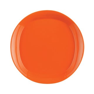 Rachael Ray Dinnerware Round and Square 4-piece Salad Plate Set 8.5-inch, Orange