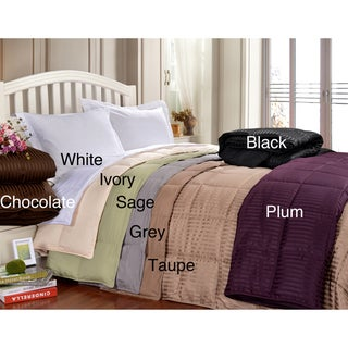 All-season Luxurious Down Alternative Reversible Blanket