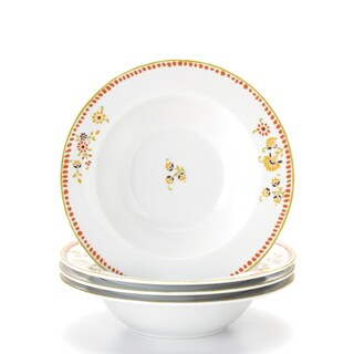 Rachael Ray 'Paisley' 4-piece Pasta Bowl Set