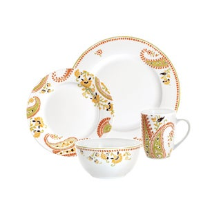 Rachael Ray Paisley Four-piece Place Setting