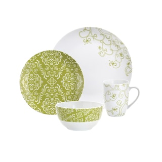 Rachael Ray 'Curly Q' 4-piece Place Setting