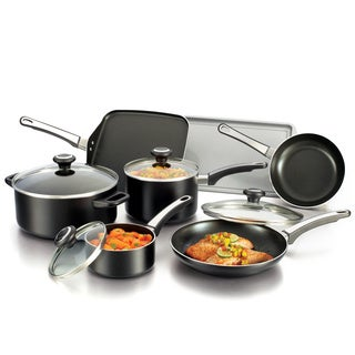 Farberware High Performance Nonstick 12-piece Set, Black