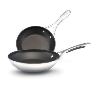 KitchenAid Stainless Steel Nonstick Skillet (2)