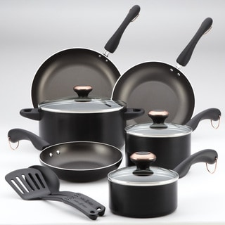 Paula Deen Signature AAP Black 11-piece Cookware Set