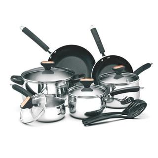 Paula Deen Signature 12-piece Stainless Steel Cookware Set