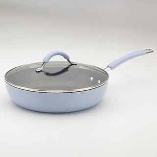 KitchenAid Aluminum 11-Inch Lavender Covered Deep Skillet