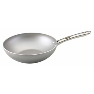 Farberware Specialties 10.5-Inch Light Brown Stir Fry Pan