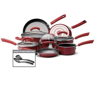Farberware Red 13-Piece Cookware Set