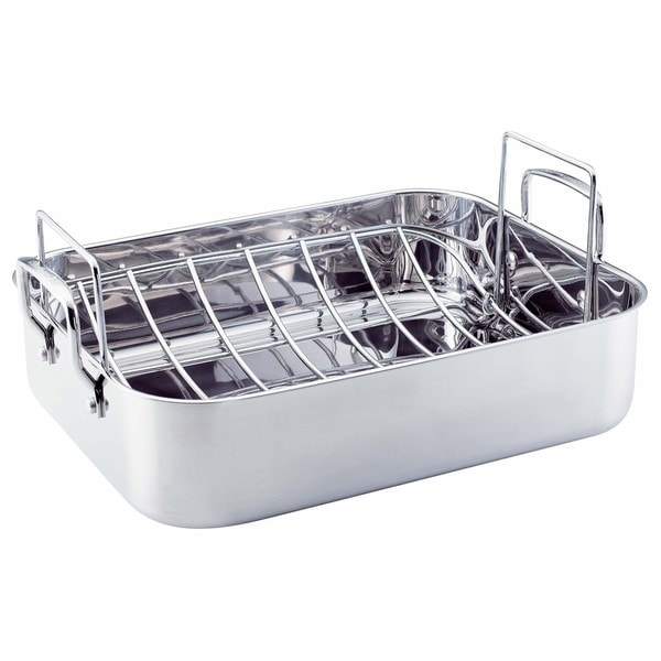 KitchenAid 'Gourmet Distinctions' Stainless Steel Roaster with Rack