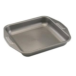 Circulon Nonstick Bakeware 9-inch Grey Square Cake Pan