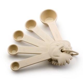 Paula Deen Signature Kitchen Accessories 5-piece Measuring Spoon Set: 1/4 tsp, 1/2 tsp, 3/4 tsp, 1 tsp, and 1 Tbsp