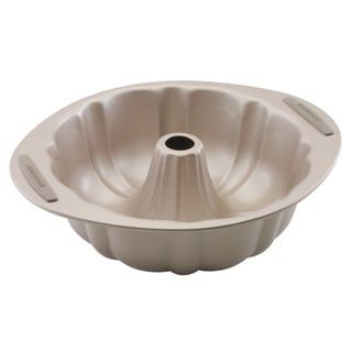 Farberware Soft Touch Bakeware 10-inch Fluted Molded, Light Brown