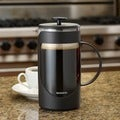 BonJour &#39;Ami-Matin&#39; Black 8-cup Unbreakable French Press