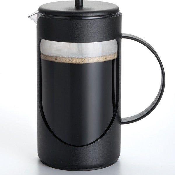 BonJour 'Ami-Matin' Black 3-cup Unbreakable French Press
