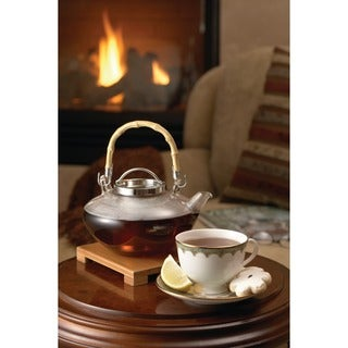 BonJour Coffee and Tea 'Zen' 42-oz. Glass Teapot