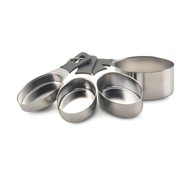 Anolon Gadgets 4-piece Grey Measuring Cups Set