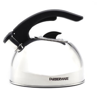 Farberware 'Larkspur' Stainless Steel 2-quart Tea Kettle