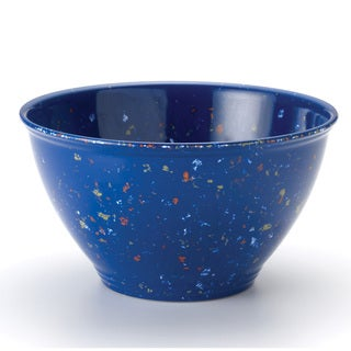 Rachael Ray Blue 4-Quart Garbage Bowl