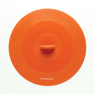 Rachael Ray Tools and Gadgets Orange 11.25-inch Large Suction Lid