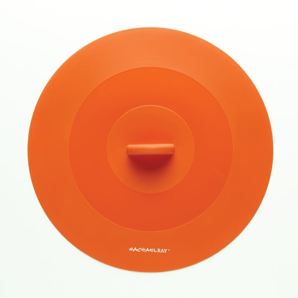Rachael Ray Tools and Gadgets Orange 11.5-inch Large Suction Lid 10169250