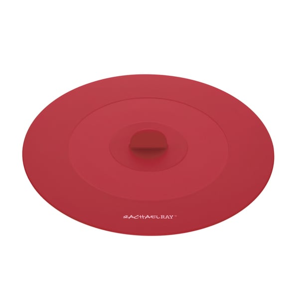 Rachael Ray Tools and Gadgets Red 9.25-inch Medium Suction Lid