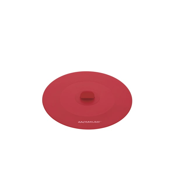 Rachael Ray Tools and Gadgets Red 7.5-inch Small Suction Lid