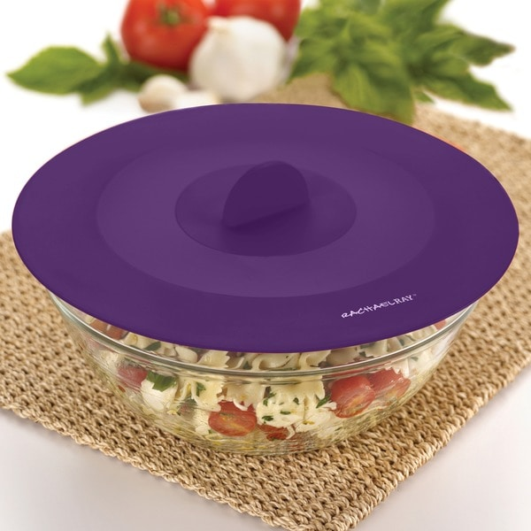 Rachael Ray Tools and Gadgets Purple 9.25-inch Medium Suction Lid 10169260