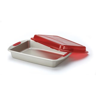 KitchenAid Gourmet Bakeware Covered Cake Pan with Silicone Grips (9 x 13)