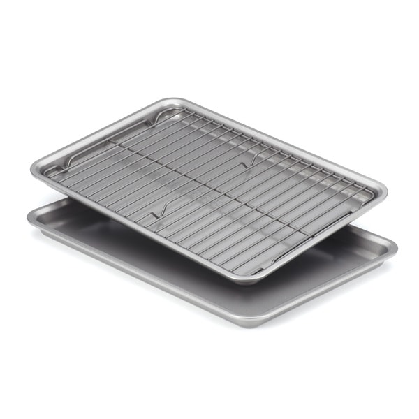 KitchenAid 3-piece Cookie Pans with Cooling Rack Bakeware Set