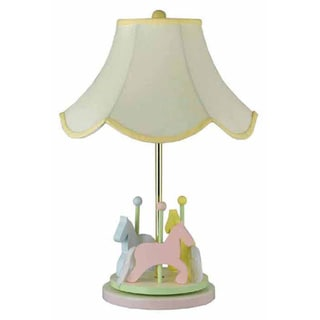 Cal Lighting Kids Carousel Table Lamp
