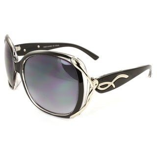 Women's Urban Round Plastic Sunglasses
