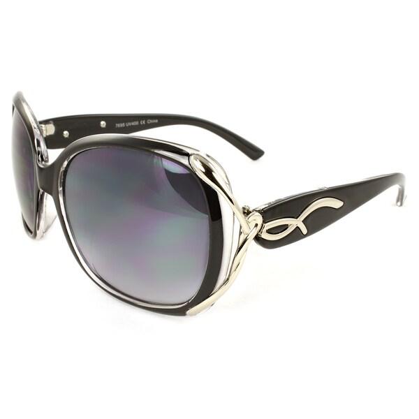 Women's Urban Round Plastic Sunglasses