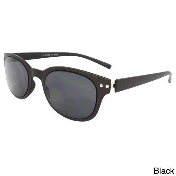 Unisex Super Thin Plastic Oval Sunglasses
