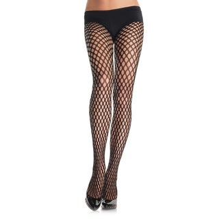Leg Avenue Women's Large Crochet Net Pantyhose