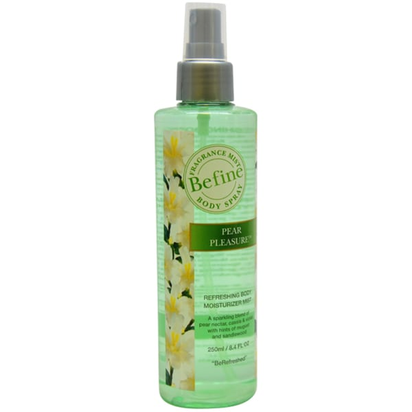 Befine Pear Pleasure Refreshing Body Moisturizer Mist