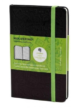 Moleskine Evernote Squared Smart Notebook (Notebook / blank book)