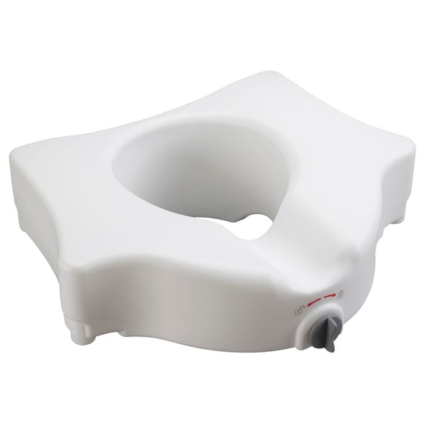 Drive Medical Elevated Toilet Seat without Arms