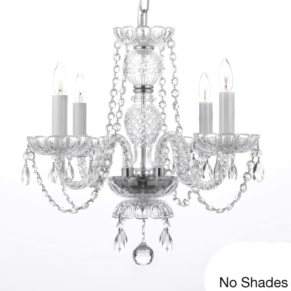Gallery Four Light Chandelier Light Fixture Free Shipping Today Overstock Com