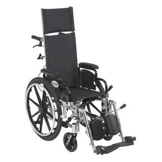 Viper Plus Lightweight Reclining Wheelchair with Flip Back Desk Arms