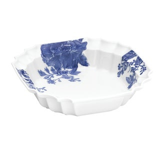 Paula Deen Signature Dinnerware Tatnall Street 10.5-Inch Blue Serving Bowl