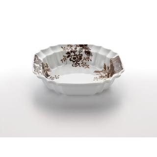 Paula Deen Signature Dinnerware Tatnall Street 10.5-Inch Brown Serving Bowl